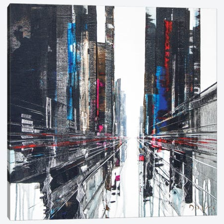 Have A Break Street Canvas Print #HND20} by Henri Dulm Canvas Art Print