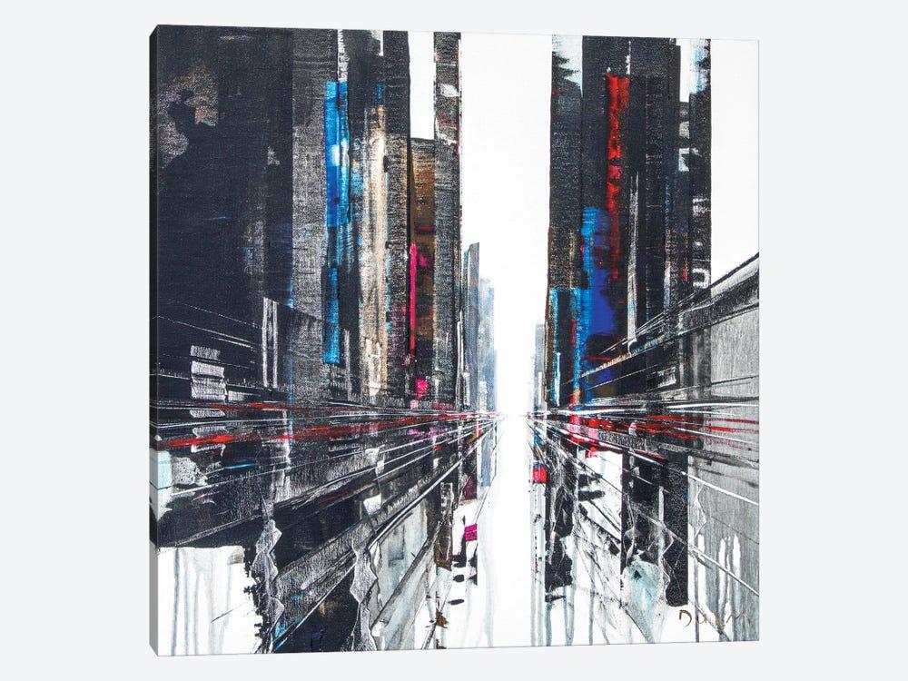 Have A Break Street by Henri Dulm 1-piece Canvas Artwork