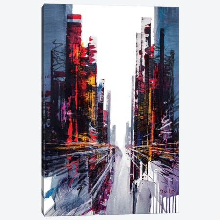 Otherwise Street Canvas Print #HND23} by Henri Dulm Art Print