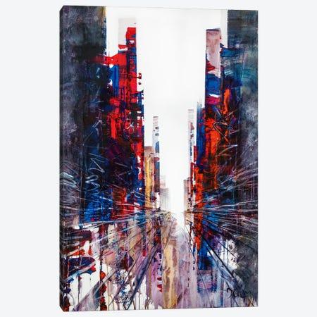 Tailor Street Canvas Print #HND24} by Henri Dulm Canvas Artwork