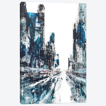 Diamonds Street Canvas Print #HND25} by Henri Dulm Canvas Art
