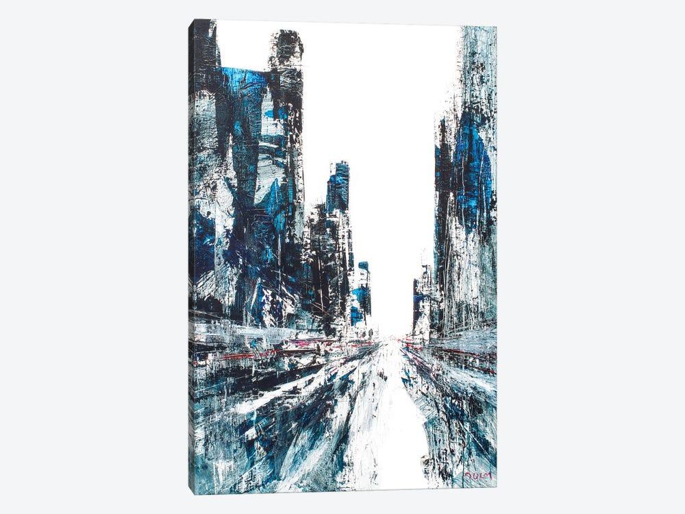 Diamonds Street by Henri Dulm 1-piece Canvas Print