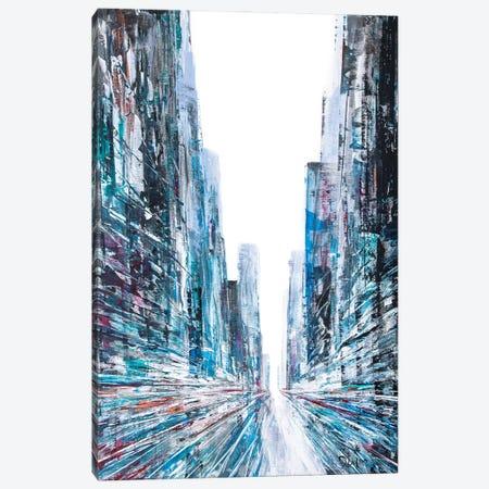 Change Street Canvas Print #HND27} by Henri Dulm Canvas Wall Art