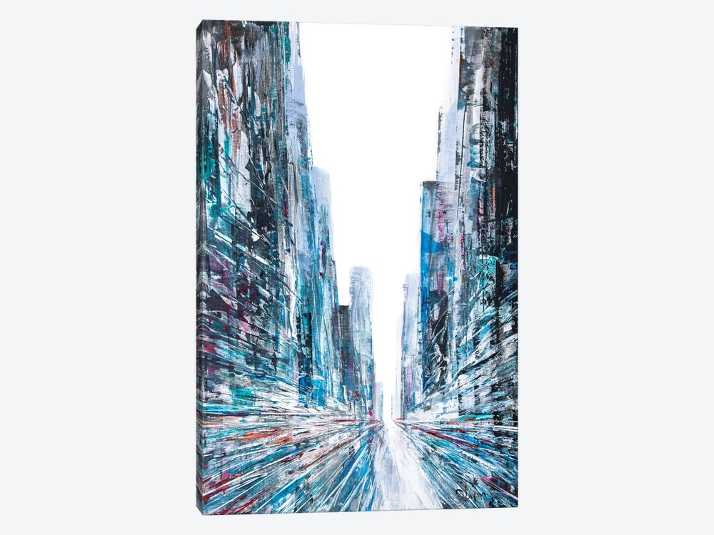 Change Street by Henri Dulm 1-piece Canvas Print