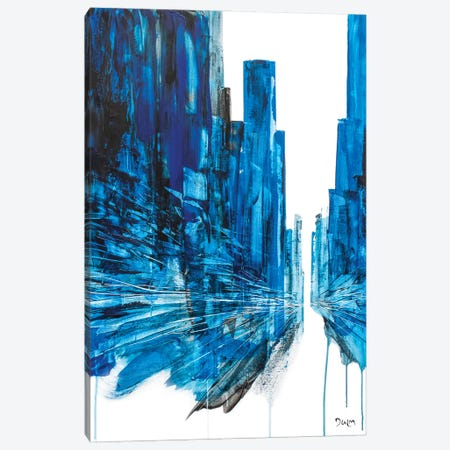 Keep Up Street Canvas Print #HND28} by Henri Dulm Canvas Print