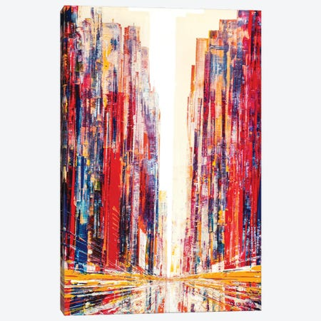Barbara Avenue Canvas Print #HND32} by Henri Dulm Canvas Art