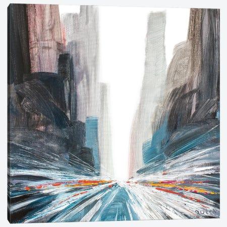 Carine Street Canvas Print #HND33} by Henri Dulm Canvas Artwork