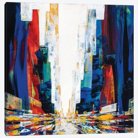 Newman Street Canvas Print #HND38} by Henri Dulm Canvas Art