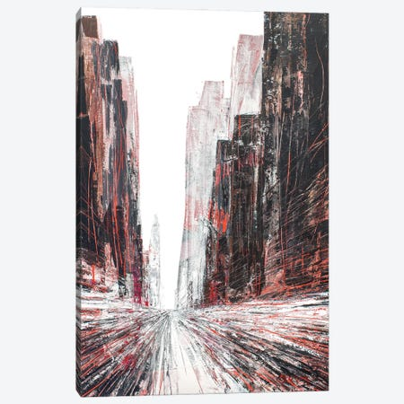 Truth Street Canvas Print #HND4} by Henri Dulm Canvas Art Print