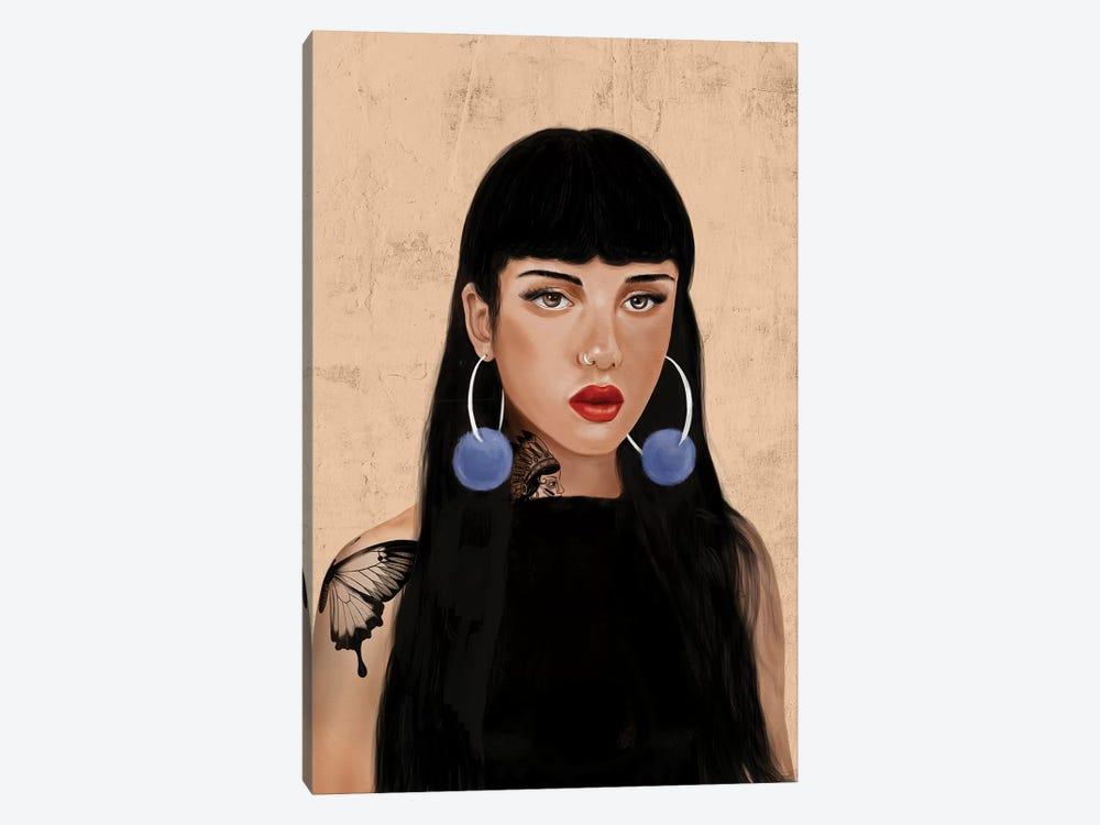 Rebel Girl IV by Henrique Nobrega 1-piece Canvas Artwork