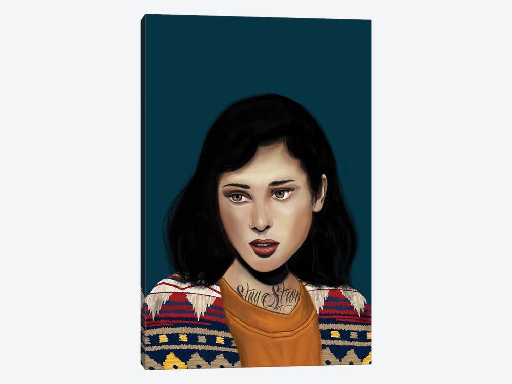 Rebel Girl V by Henrique Nobrega 1-piece Canvas Artwork