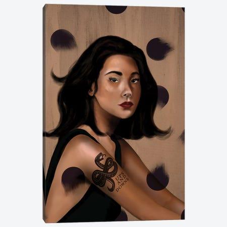Rebel Girl VII Canvas Print #HNO13} by Henrique Nobrega Canvas Art Print
