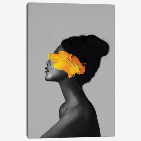 Rebel Girl VIII Canvas Print #HNO14} by Henrique Nobrega Canvas Artwork