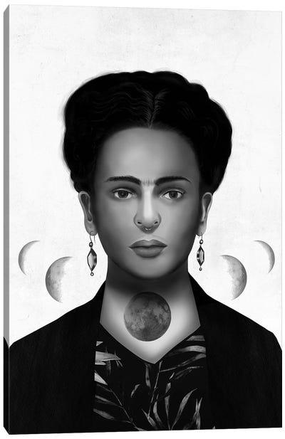 Frida Kahlo Eclipse Canvas Art Print