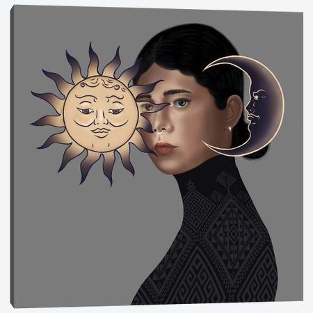 Sun Canvas Print #HNO16} by Henrique Nobrega Canvas Artwork
