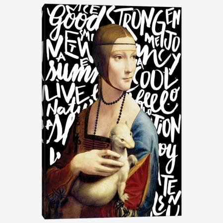 Da Vinci And Types Canvas Print #HNO1} by Henrique Nobrega Canvas Print