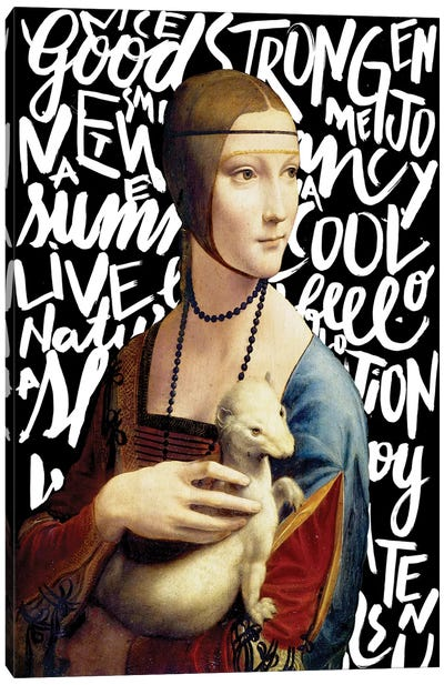 Da Vinci And Types Canvas Art Print
