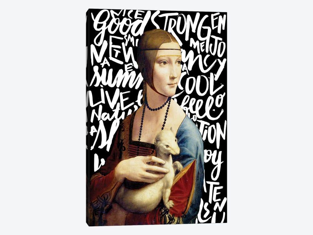 Da Vinci And Types by Henrique Nobrega 1-piece Canvas Print