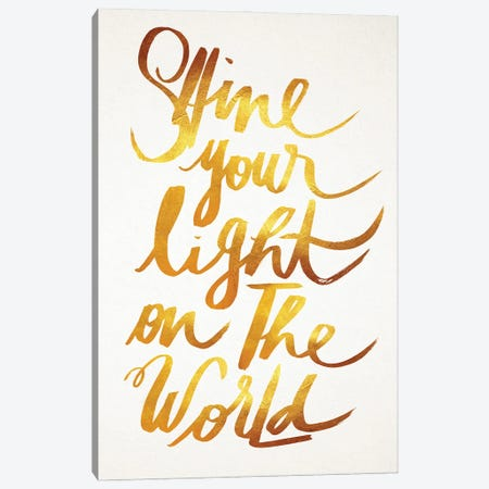 You Shine Canvas Print #HNO21} by Henrique Nobrega Canvas Wall Art