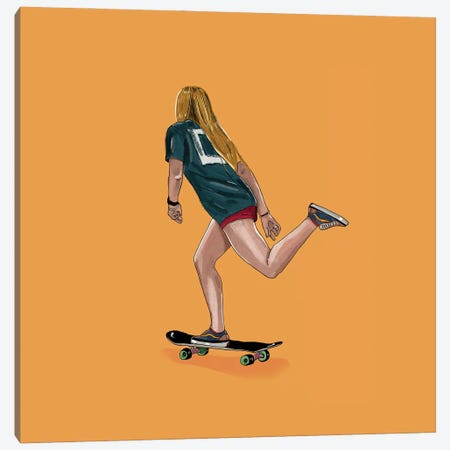 Skate Goods Canvas Print #HNO24} by Henrique Nobrega Canvas Print