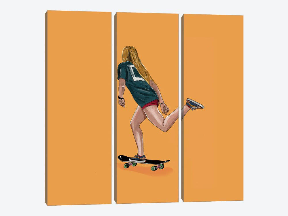 Skate Goods by Henrique Nobrega 3-piece Canvas Art Print