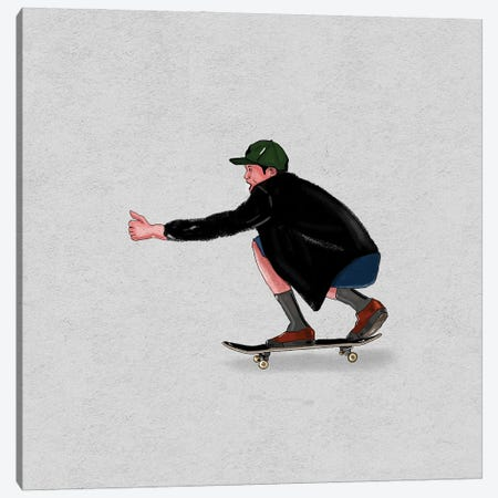 Skate Goods III Canvas Print #HNO26} by Henrique Nobrega Canvas Print