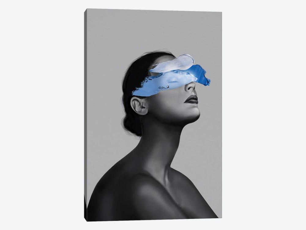 Blue Girl by Henrique Nobrega 1-piece Canvas Art