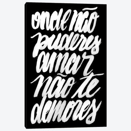 Frida Kahlo - Puderes Amar I Canvas Print #HNO40} by Henrique Nobrega Canvas Art