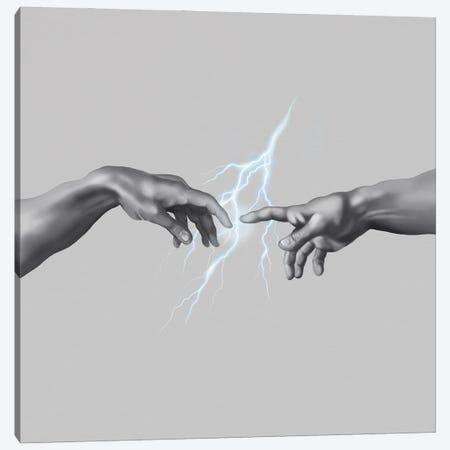Contact Canvas Print #HNO47} by Henrique Nobrega Canvas Print