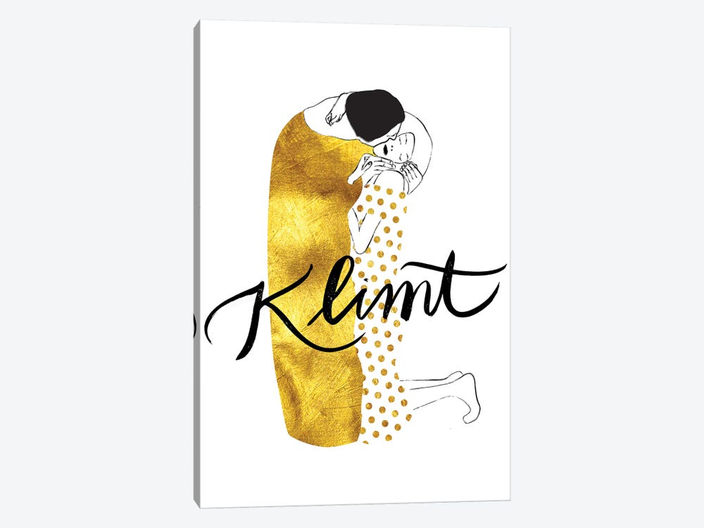 Klimt Golden 1-piece Canvas Art