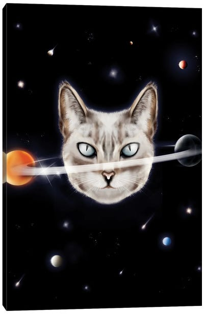 Cat Planet I Canvas Art Print