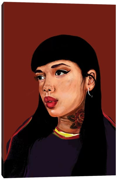 Rebel Girl I Canvas Art Print