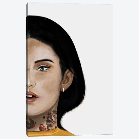 Rebel Girl II Canvas Print #HNO8} by Henrique Nobrega Canvas Art Print