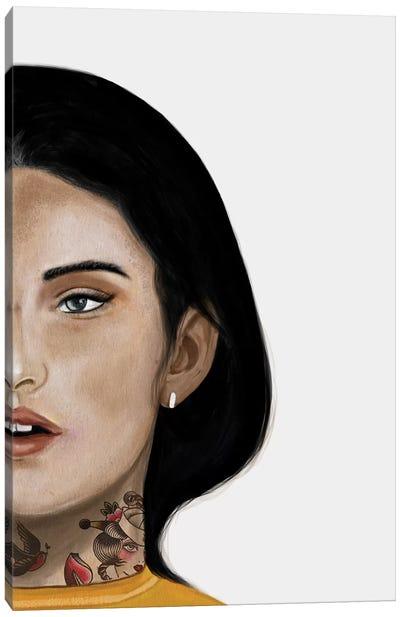 Rebel Girl II Canvas Art Print