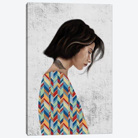 Rebel Girl III Canvas Print #HNO9} by Henrique Nobrega Canvas Print