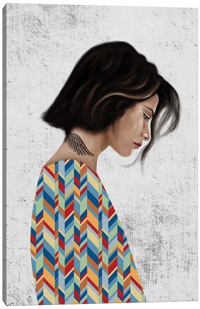 Rebel Girl III Canvas Art Print