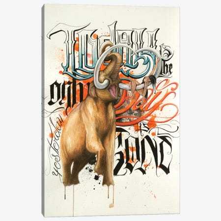 Mammoth Canvas Print #HNQ11} by Henrique Montanari Canvas Art Print