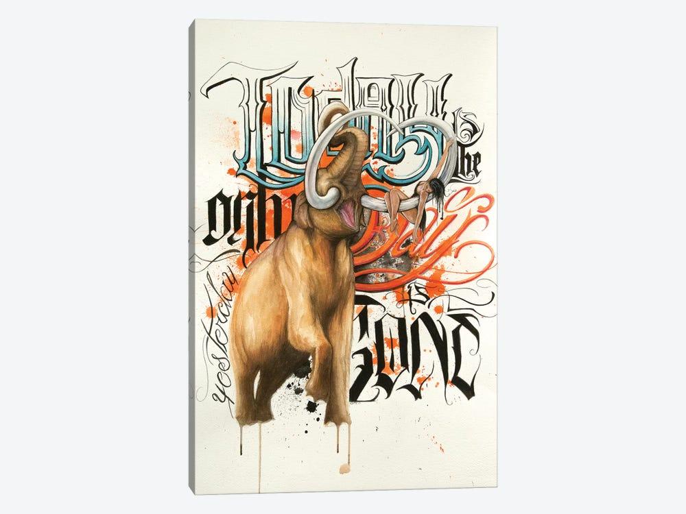 Mammoth by Henrique Montanari 1-piece Art Print