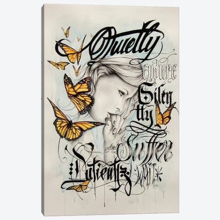 Butterfly Canvas Print #HNQ2} by Henrique Montanari Canvas Wall Art