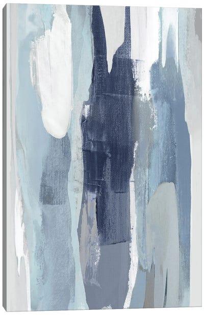 Converge Blue III Canvas Art Print