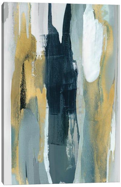 Converge Teal I Canvas Art Print