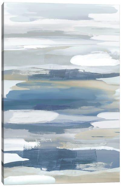 Intuition Blue Canvas Art Print