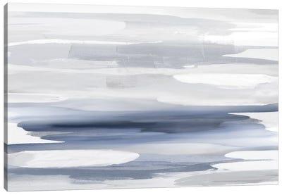 Beyond In Blue Canvas Art Print
