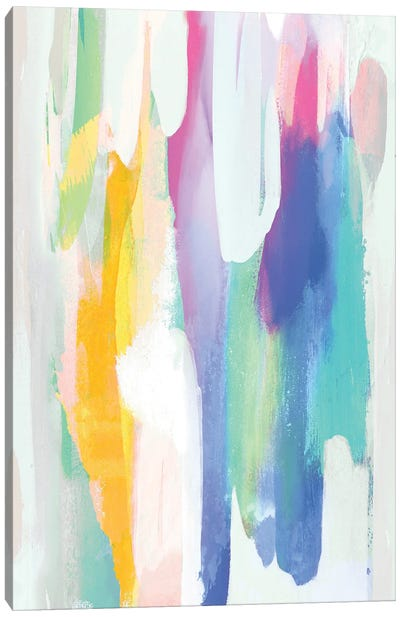 Vivacious II Canvas Art Print