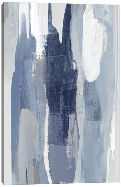 Converge Blue I Canvas Art Print