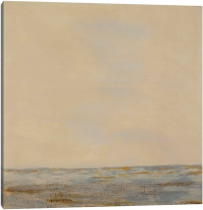 Desert Sea Canvas Art Print