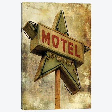Vintage L.A. XV Canvas Print #HNY10} by Honey Malek Canvas Print