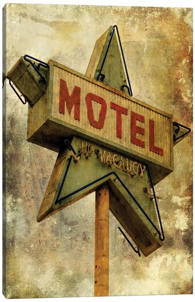Vintage L.A. XV Canvas Art Print