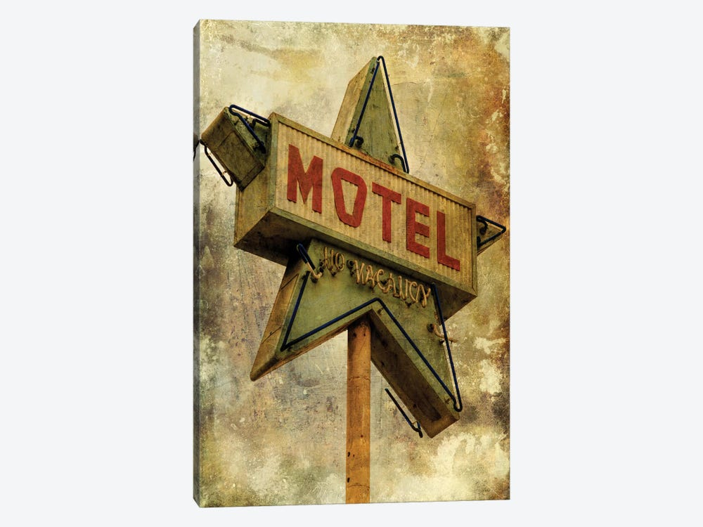Vintage L.A. XV by Honey Malek 1-piece Canvas Art Print