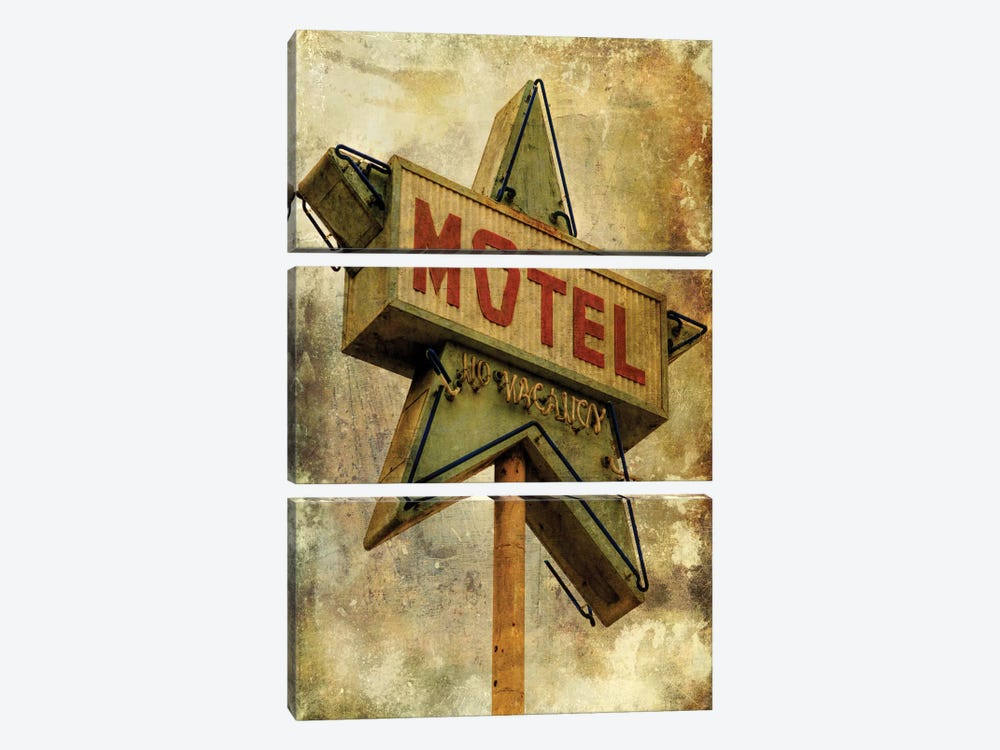 Vintage L.A. XV by Honey Malek 3-piece Canvas Print